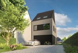 Foto Nieuwbouwwoning – Achterbroek