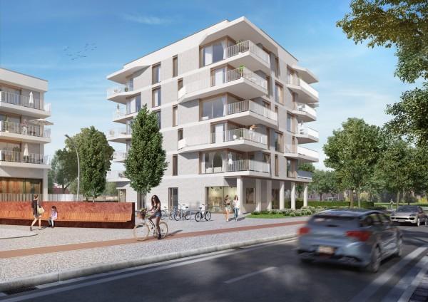 Foto Kanaelzicht: Nieuwbouwappartementen in een bruisende nieuwe buurt