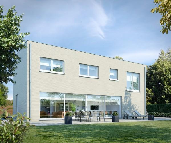 Foto Gezinswoning in open bebouwing te Mol