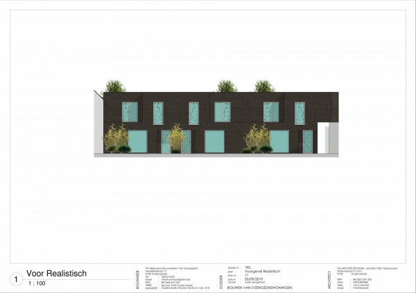 Foto 3 nieuwbouwwoningen Heuvel