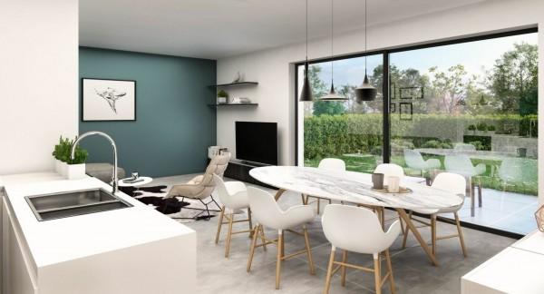 Foto Denderleeuw – Project RES. LEEUWHOF – 4 nieuwbouwwoningen