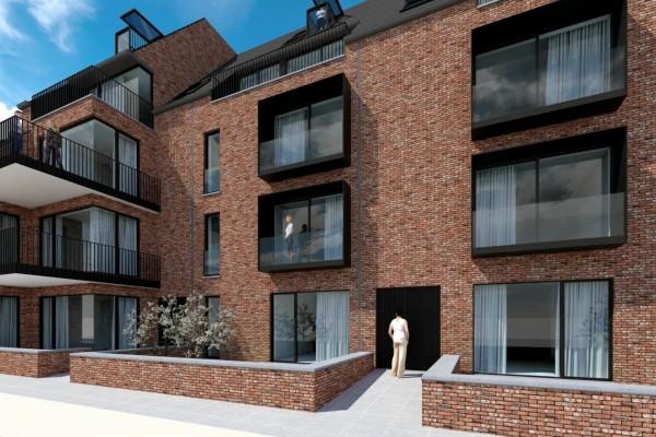 """Foto EREMBODEGEM – Residentie """"Bosrand"""" – 12 prachtige appartementen aan de stadsrand"""
