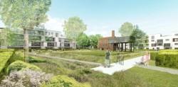Foto Centraal gelegen nieuwbouwproject in een stadsoase te Sint-Niklaas