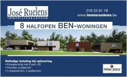 """Foto 8 hoogwaardige """"BEN"""" koppelwoningen te Boutersem"""