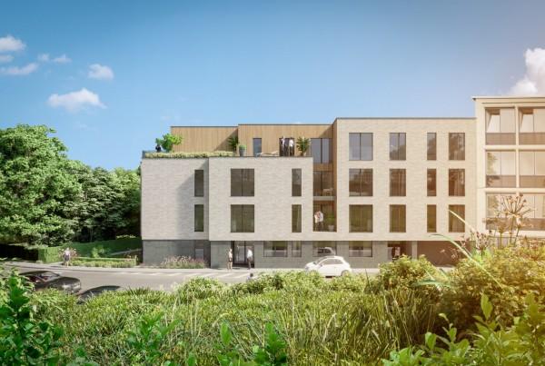 """Foto Uniek nieuwbouwproject """"Paviljoen"""" gelegen te Schaarbeek"""