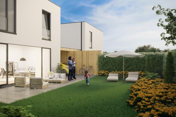 Foto Nieuwbouw woning 3 slaapkamers en tuin in Meerbeek