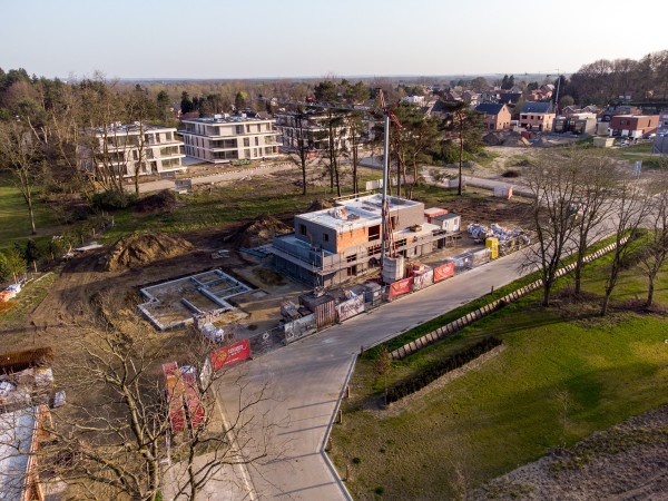 Foto Zwevende Parkappartementen Hoog Beerzel