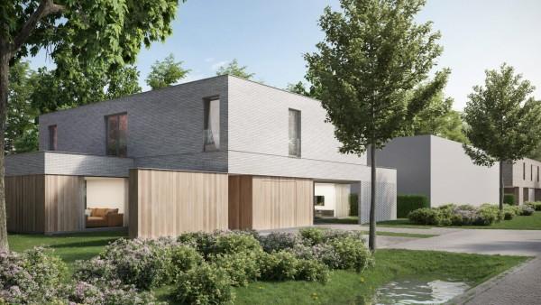 Foto Moderne parkwoningen in Hoog Beerzel