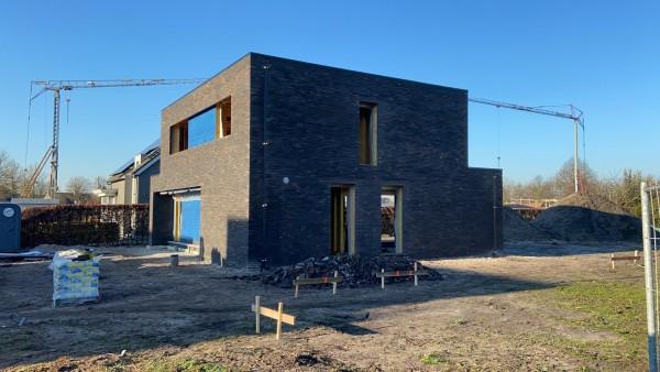 Foto Moderne open woning in houtskelet in Vosselaar