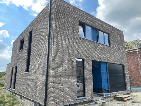 Foto Moderne woning in opbouw Lier