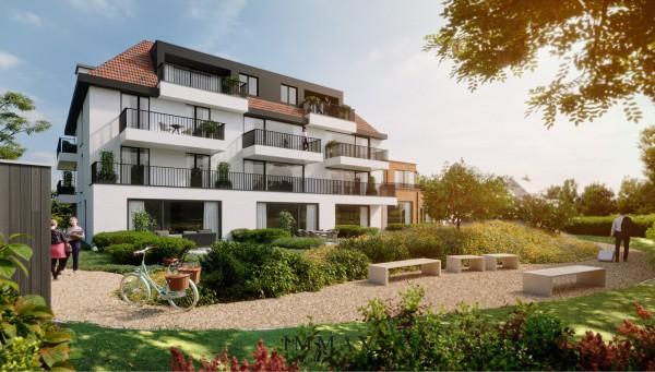 Foto SEPP – Nieuwbouwcomplex met prachtig aangelegde tuin