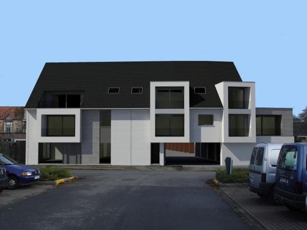 Foto Residentie Chavalie – Kleinschalig nieuwbouwproject te Sint-Andries