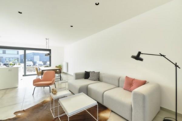 Foto Moderne kijkwoning op een kwartiertje van Gent