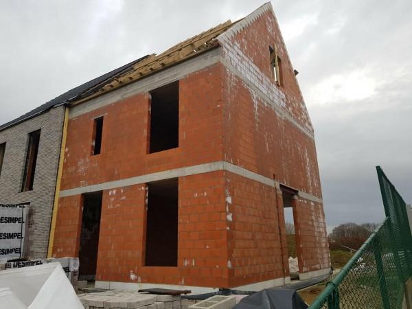 Foto Half open bebouwing