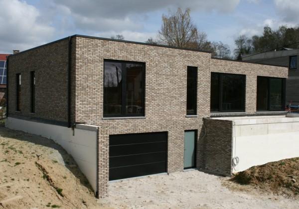 Foto Moderne woning op unieke locatie in Lubbeek