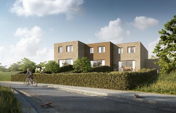 Foto Nieuwbouwwoningen te Hooglede