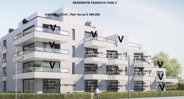 Foto Residentie Paddock De Panne Fase II