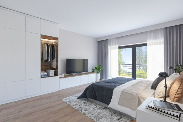 Foto Zeer uitzonderlijke nieuwbouwvilla met 4 slaapkamers met zicht op de Vaart!