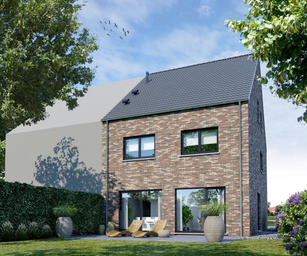 Foto Gezinswoning in half open bebouwing te Tienen