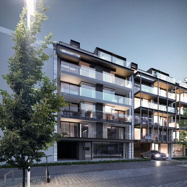 Foto Prachtig nieuwbouwproject in centrum Nieuwpoort